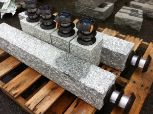 Granite Solar Lights!
