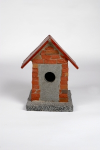 Brick Birdhouse